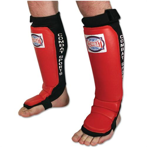 Combat Sports Adjustable Shin and Instep Guards
